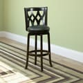 CorLiving Woodgrove 29'' Wooden Swivel Bar Stool with Cushion