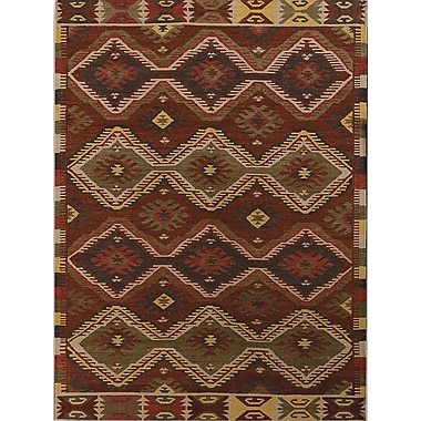 AMER Rugs Makamani Burned Orange Rug; 5' x 8'