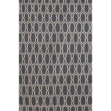 AMER Rugs Zara Dove Gray Area Rug; 5' x 8'