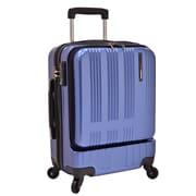 Traveler's Choice Tribecca Mobile Office 20.5'' Hardshell Spinner Suitcase; Navy