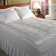 Blue Ridge Home Fashion 233 Thread Count Down Pillow Top Featherbed; King