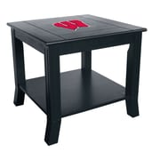 Imperial NCAA End Table; University Of Wisconsin