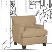 SoFab Legend Arm Chair; Temperance Brownstone