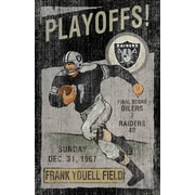 Imperial NFL Vintage advertisement; Oakland Raiders