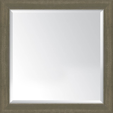Melissa Van Hise Framed Mirror; Farmhouse Brown