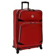 Traveler's Choice San Vincente 30'' Spinner Suitcase; Red