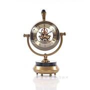 Old Modern Handicrafts 8'' Brass Table Clock