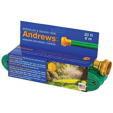 Andrews 70-12350 Sprinkler & Soaker Hose