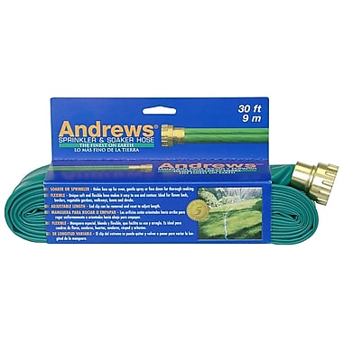 Andrews 10-12346 Sprinkler & Soaker Hose, 30'