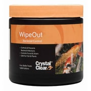 Crystal Clear CC131-8 WipeOut Bacterial Treatment, 8 oz.