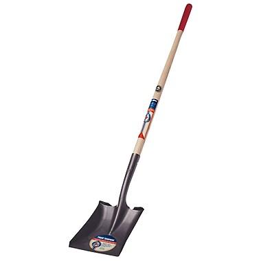 Ames 1564200 Square Point True American Wood D-Handle Shovel