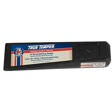 True Temper 1113091900 4 lbs. Wood Splitting Wedge