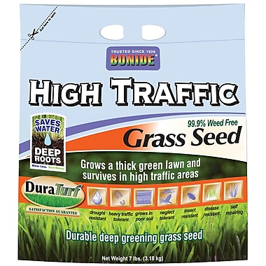 Bonide 60284 7 lbs. High Traffic Grass Seed