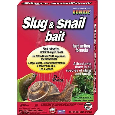 Bonide One and Done 902 Slug and Snail Bait, 6 lbs.