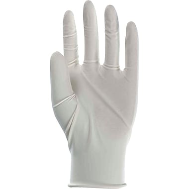 Boss Gloves 1UL0004M 100 Count Disposable Latex Gloves, Medium