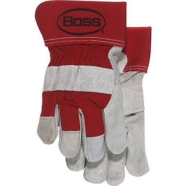Boss 4095R Red Men's Leather, Large