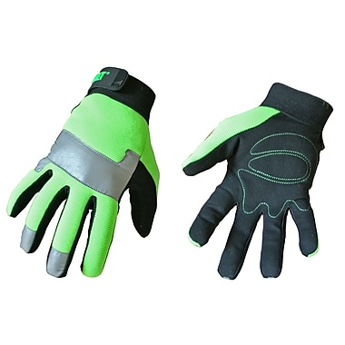 Cat Gloves CAT012214 Green Synthetic