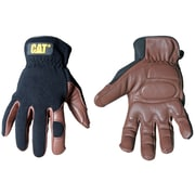 Cat Gloves CAT012216 Brown Leather