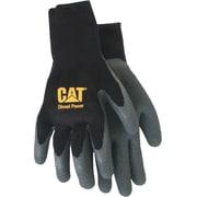 Cat Gloves CAT017410L Black Poly/Cotton, Large