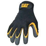 Cat Gloves CAT017415L Gray Poly/Cotton, Large