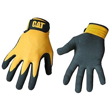 Cat Gloves CAT017416L Yellow Nylon, Large