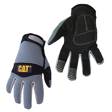 Cat Gloves CAT012213J Gray Neoprene, Jumbo