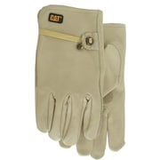 Cat Gloves CAT012110M Gray Leather, Medium