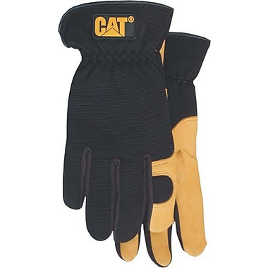 Cat Gloves CAT012205J Black Leather, Jumbo