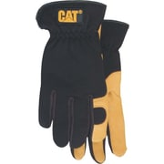 Cat Gloves CAT012205M Black Leather, Medium