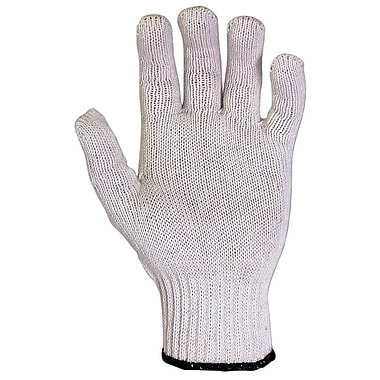 CLC 2000 White Men's Polyester/Cotton Gloves