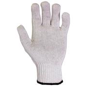 CLC 2000 White Men's Polyester/Cotton Gloves