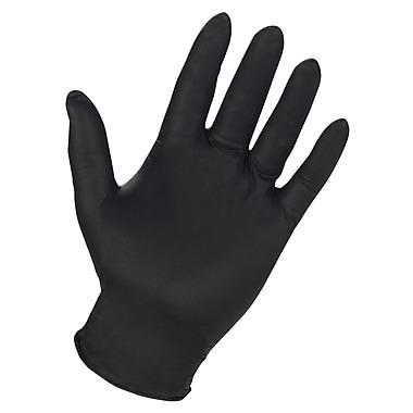 Custom Leathercraft 2337L Powder Free Nitrile Disposable Gloves, Large