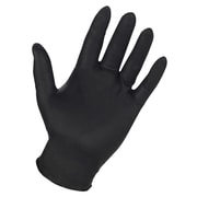 Custom Leathercraft 2337L Powder Free Nitrile Disposable Gloves, Large