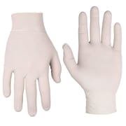 CLC Work Gear 2328PC Pre Powdered Latex Disposable Gloves, 10 Count