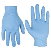 CLC Work Gear 2331PC Pre Powdered Nitrile Disposable Glove Box, 10 Count