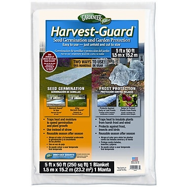 Dalen Products HG-50 Harvest-Guard Floating Garden Cover, 5' x 50'