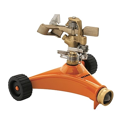 Dramm 10-15032 Impulse Sprinkler, Orange