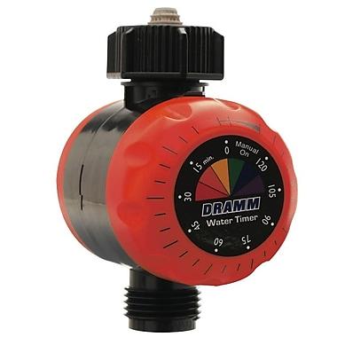 Dramm 10-15041 Premium Water Timer, Red