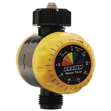 Dramm 10-15043 Premium Water Timer, Yellow