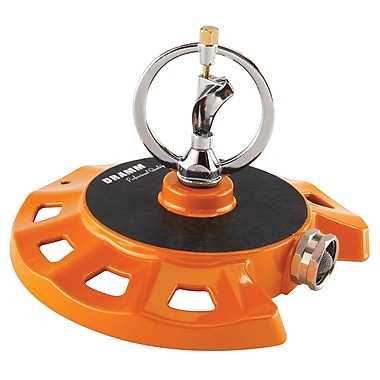 Dramm Corporation 10-15071 ColorStorm Spinning Sprinkler, Orange