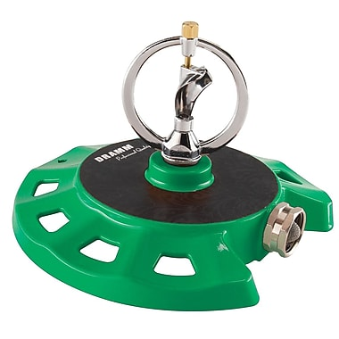 Dramm Corporation 10-15071 ColorStorm Spinning Sprinkler, Green