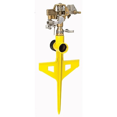 Dramm Corporation 10-15063 ColorStorm Stake Impulse Sprinkler, Yellow