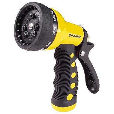 Dramm 80-12703 9 Pattern Revolver Spray Gun Nozzle, Yellow
