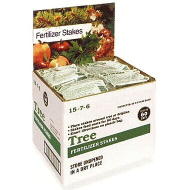 Jobes 2710 Granular Domestic Bulk Tree Fertilizer Stakes, 160 Pack