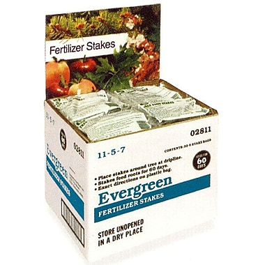 Jobes 2711 Granular Domestic Bulk Evergreen Tree Stakes, 160 Pack