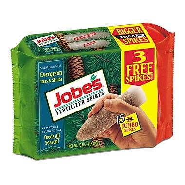 Jobes 01611 Granular Evergreen Fertilizer Spikes, 4.5 lbs.