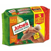 Jobes 01612 Granular Fruit and Citrus Fertilizer Spikes, 15 Pack