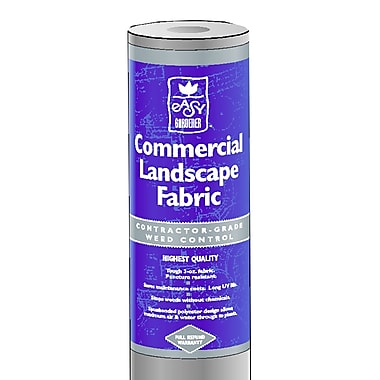 Easy Gardener 2504 3' X 50' Gray Commercial Weed Barrier