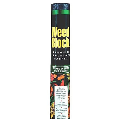 Easy Gardener 1041 Weedblock Landscape Fabric, 3' x 50'