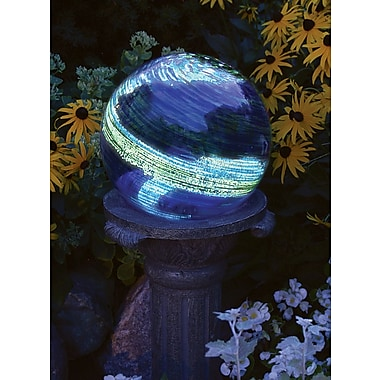 Echo Valley 840 Illuminarie Blue Swirl Gazing Globe